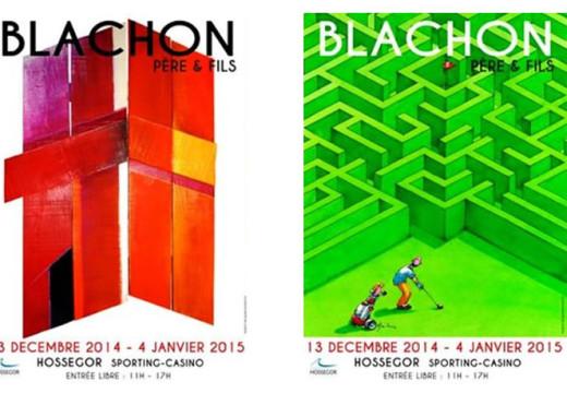 Exposition Blachon Père & Fils à Hossegor
