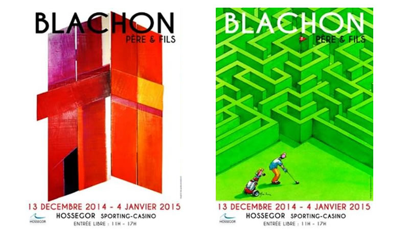 Affiche Expo Blachon Pere & Fils