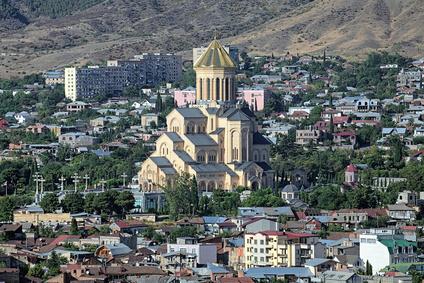 Cathédrale Tbilissi Géorgie