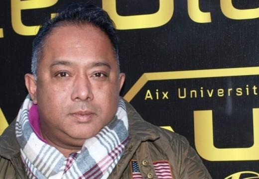 Ravi André, Président de l'Aix Université Club Rugby