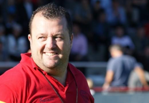 Stéphane Barberena, Entraîneur du pack de l'US Tyrosse Rugby Côte Sud