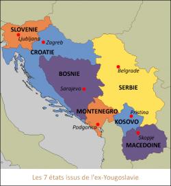 carte ex_yougoslavie