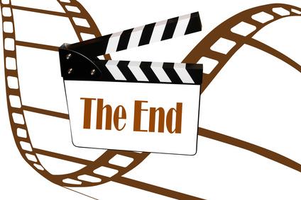 The End - Cinéma - Film noir et blanc