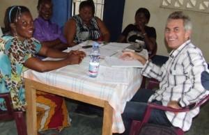 Dans une association de femmes en milieu rural dans la province du Bandundu