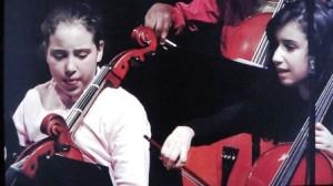 gamins violoncelle orchestre
