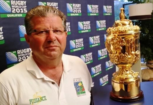 Daniel Blondy / Vice-Président du Comité de Rugby de La Réunion