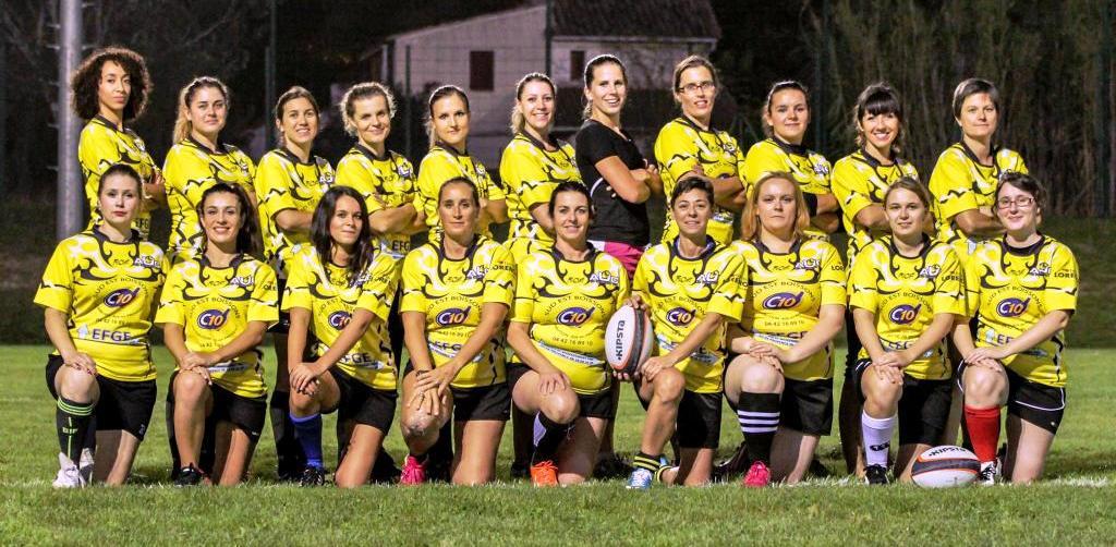 Equipe filles AUC