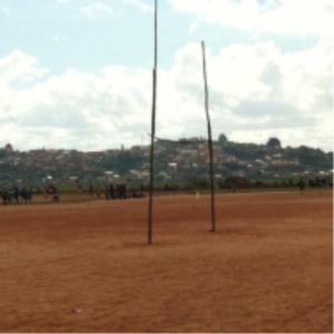 Poteaux de rugby à Mada