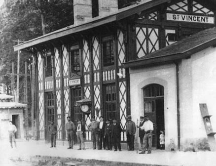 l'anciene  gare du Midi