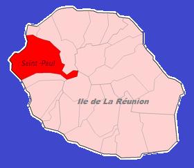 localisation Saint-Paul