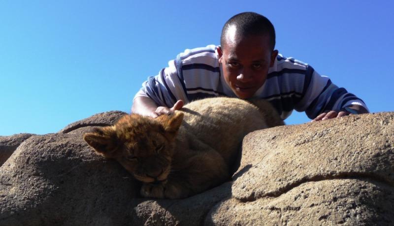 martien adolphe et lion