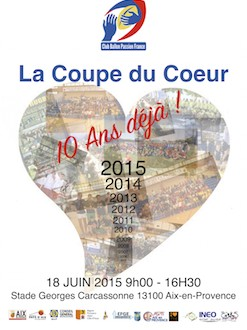 Affiche coupe du coeur 2015