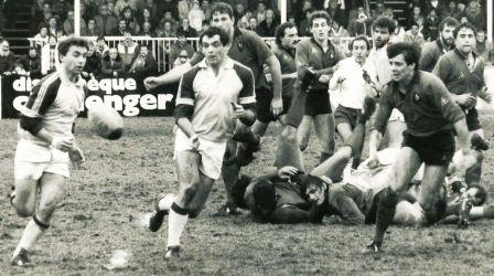 Gilles en action contre Toulon