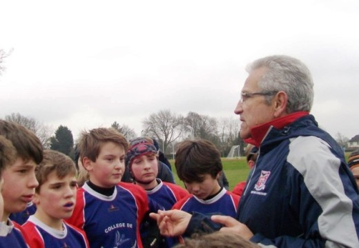Guy Perrin / Responsable de la Section Rugby du Collège de Tyrosse