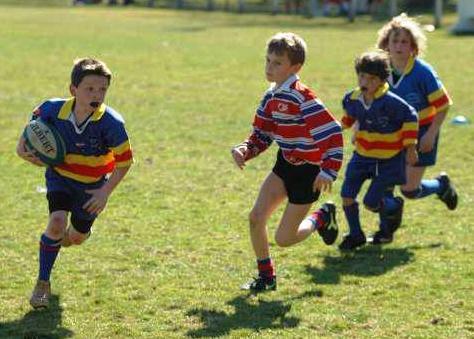 Thomas école de rugby