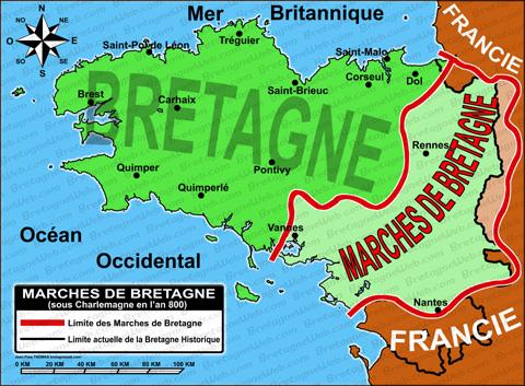 marches de bretagne - site bretagne web