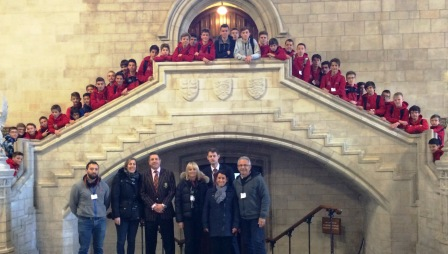 section rugby au parlement anglais
