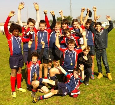 section rugby médaille