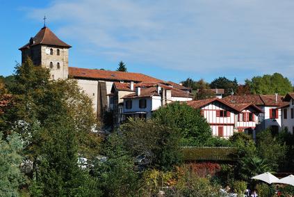 Le village d'Espelette