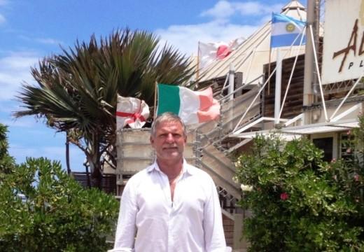 Jean-Michel Piron / Président du Rugby Club de Saint-Pierre