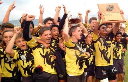 RC Saint Pierre champion Réunion Minimes 2014 Photo site RCSP