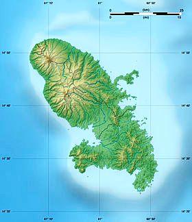 carte martinique wikipedia