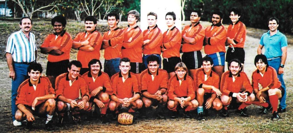 Première équipe XVD 1986
