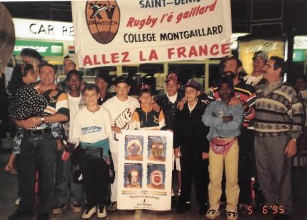 Tournée Coupe du Monde AFS 1995