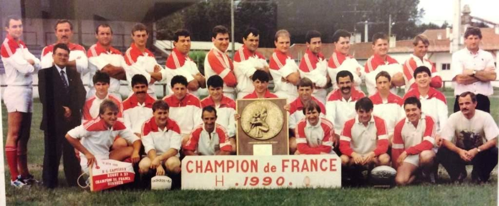 captieux champion de france 1990