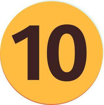 nombre 10 - Pixabay