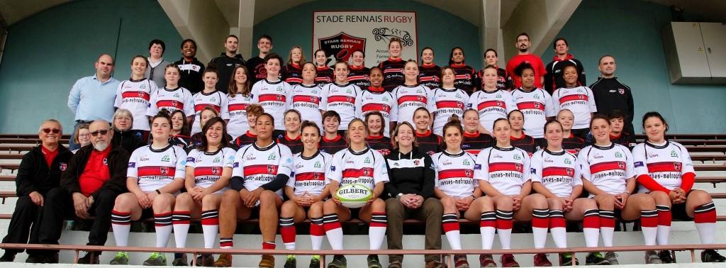 Equipe Féminines du Stade Rennais Rugby