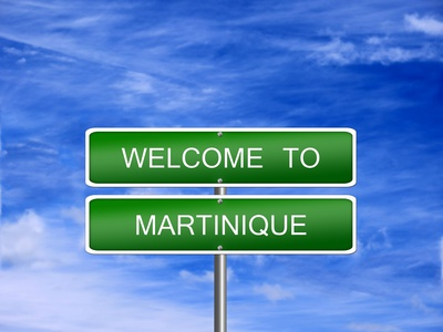 Martinique Welcome Travel Sign