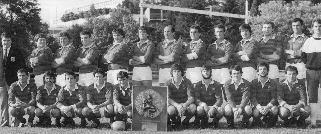 Hagetmau titre groupe B 1983