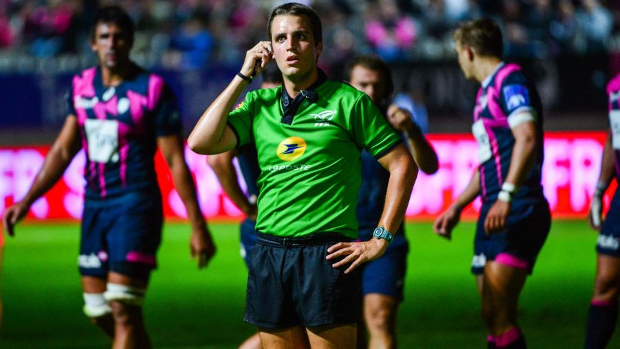 Thomas situation arbitre top 14