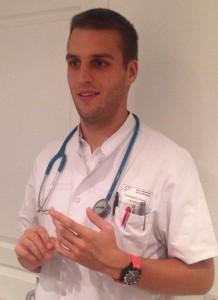 thomas en médecin