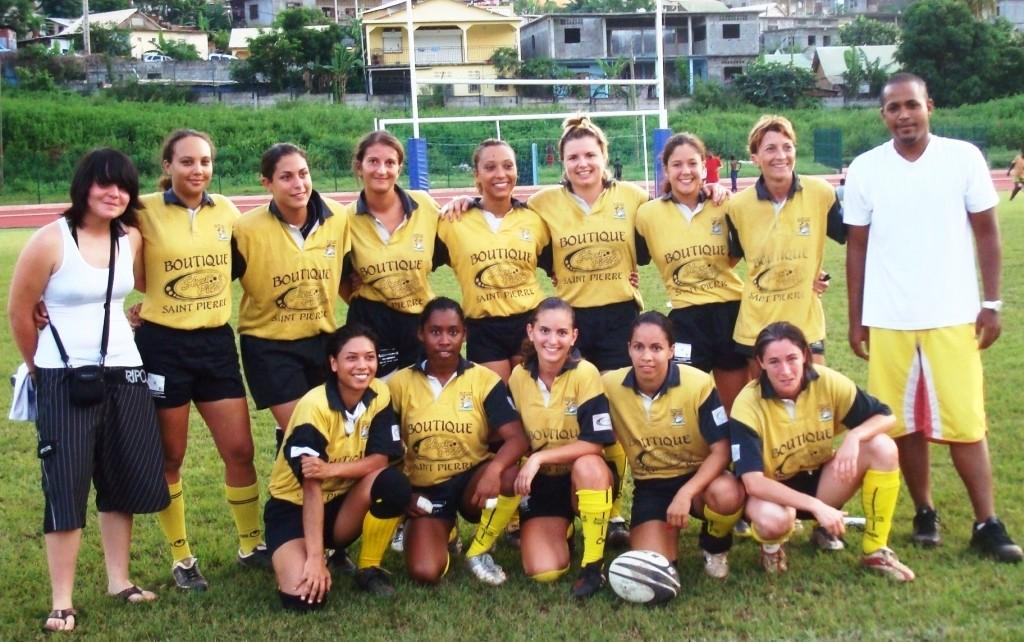 Féminines en Tournée à Mayotte en 2008 (2)