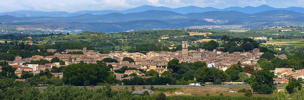 Vue de Pézenas - Wikimedia Commons - Chritian Ferrer - CC BY SA 3.0