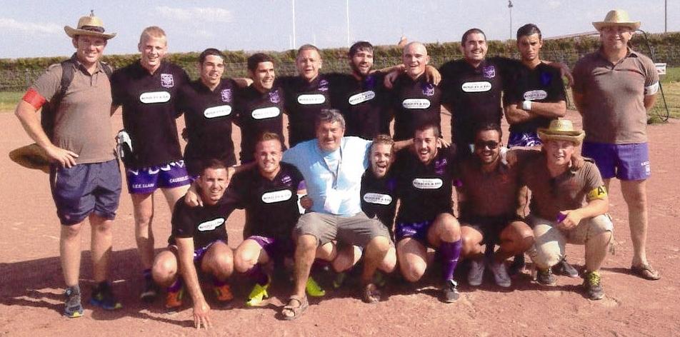 laurent carayon Pezenas Rugby à 7 2014