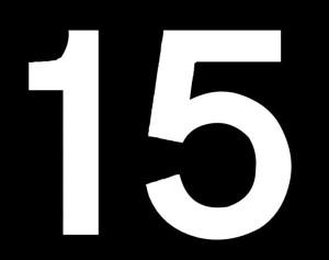 nombre 15