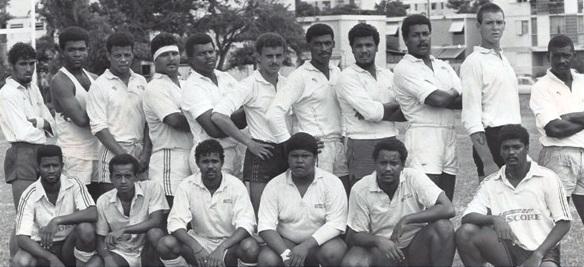 José au Case Chaudron en 1990