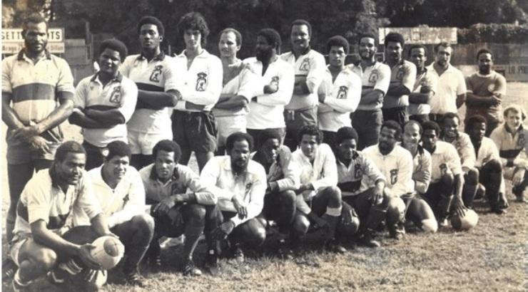 José et les Richer en Sélection Martinique