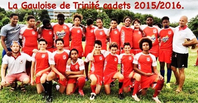 cadets 2015-2016 de la gauloise trinité