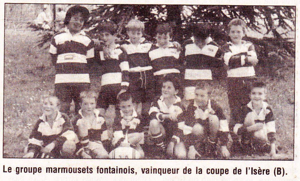 Jérôme Marmousets Fontaine 98