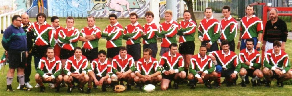 JM Gros équipe du jubilé 1995