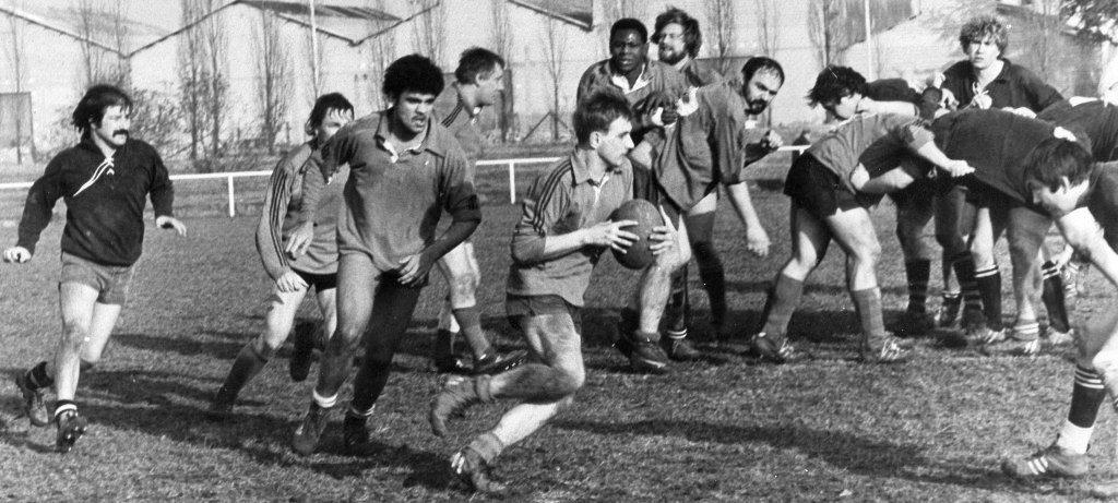 JM Gros en seniors (fin des 70's début 80's)