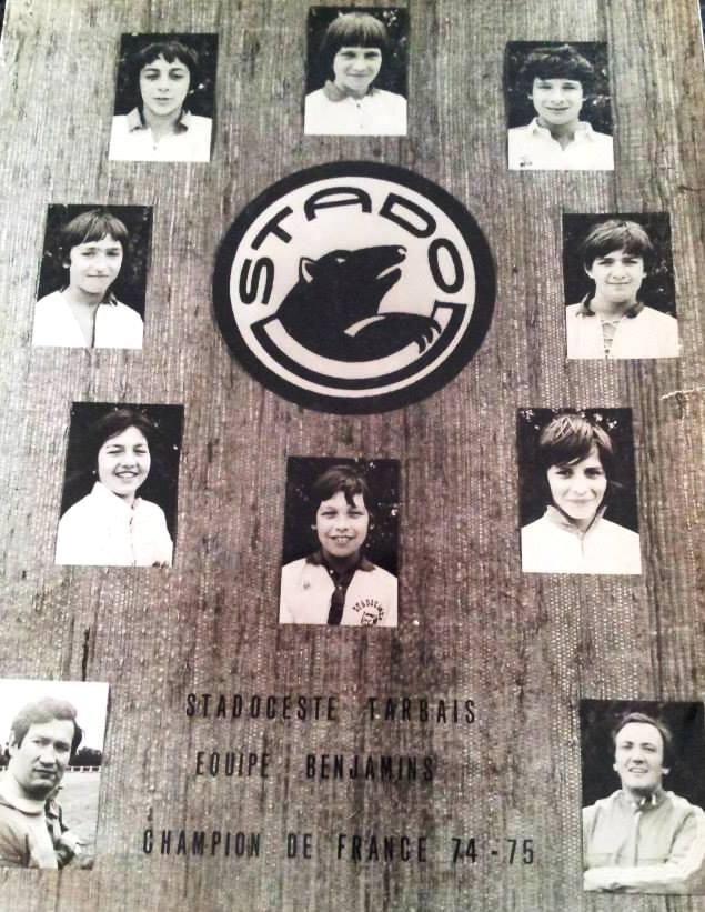 jl sautede champions france benjamins 74-75