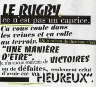 jl sautede phrases sur le rugby