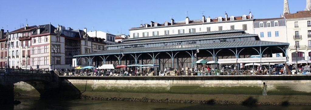 Halles Bayonne - Wikimedia-Daniel Villaruela-CC BY SA 4.0