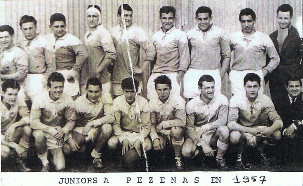jacques debut juniors pezenas 1957