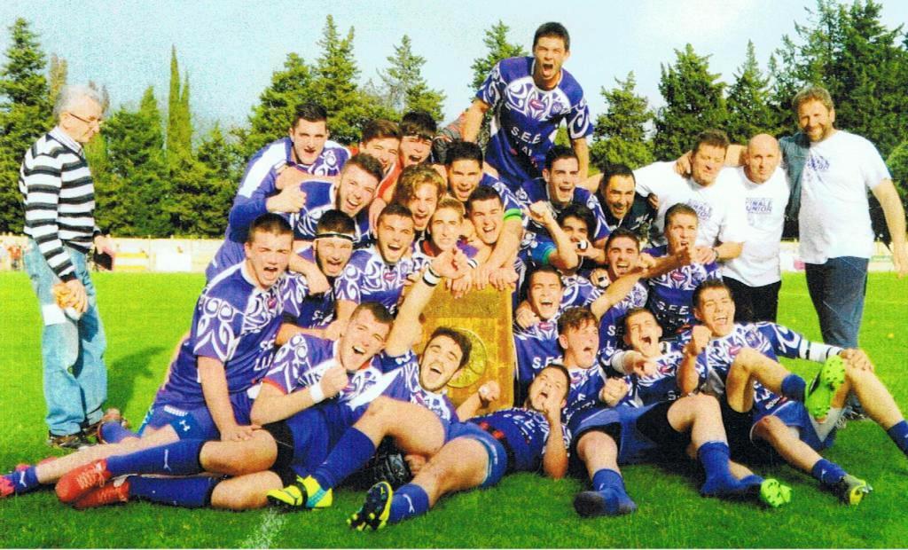 juniors pezenas champions languedoc